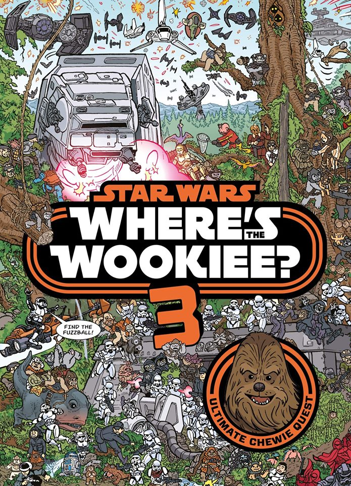 Star Wars Where's the Wookiee 3