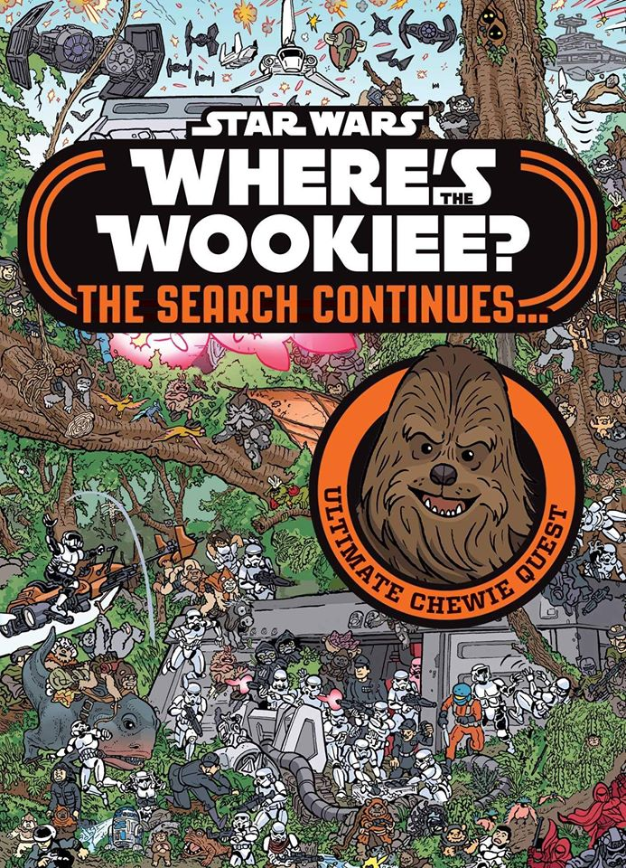 Star Wars Where's the Wookiee - The Search Continues