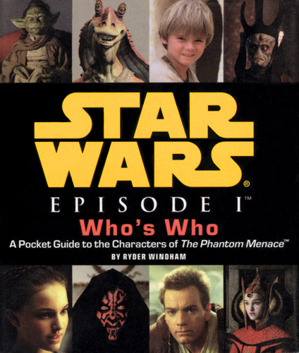 Star Wars Episode I: Who's Who