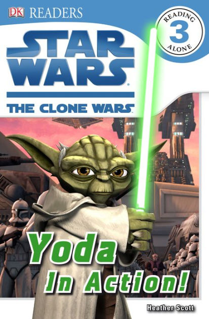 Star Wars The Clone Wars: Yoda in Action