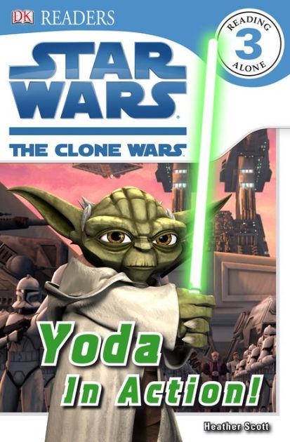 Star Wars The Clone Wars: Yoda in Action