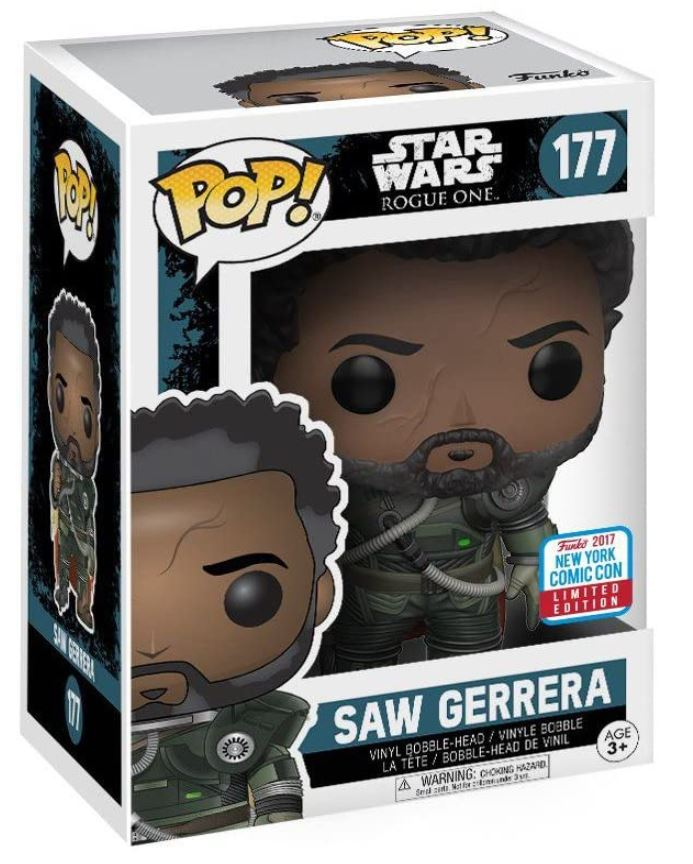 Saw Gerrera with Hair -
