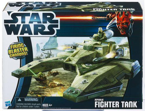 Republic Fighter Tank green deco (TCW) -