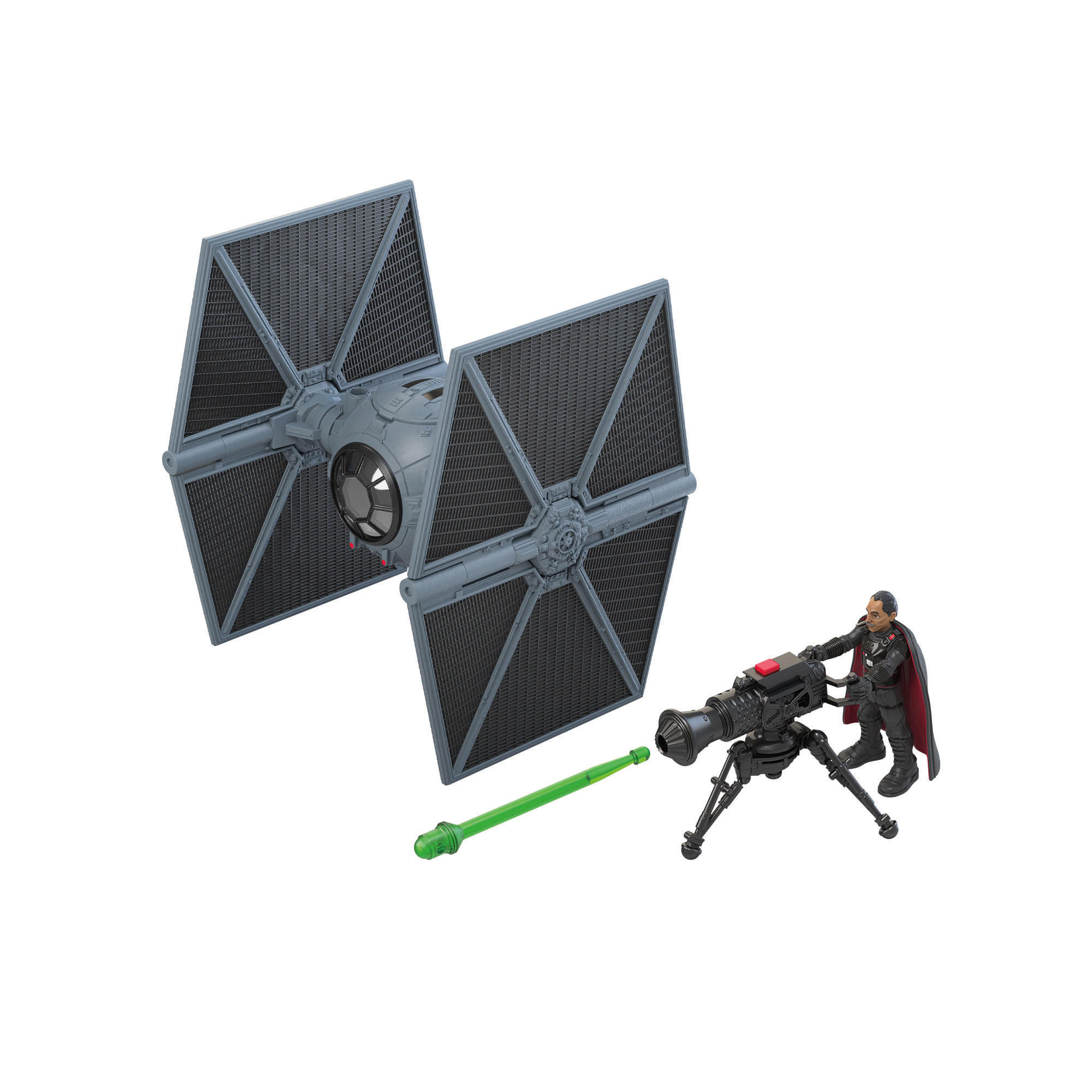 Moff Gideon with Outland TIE Fighter