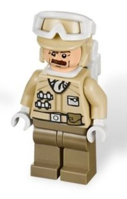 Hoth Officer (Major Derlin) | Star Wars Advent Calendar 2012