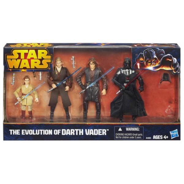Evolution of Darth Vader -