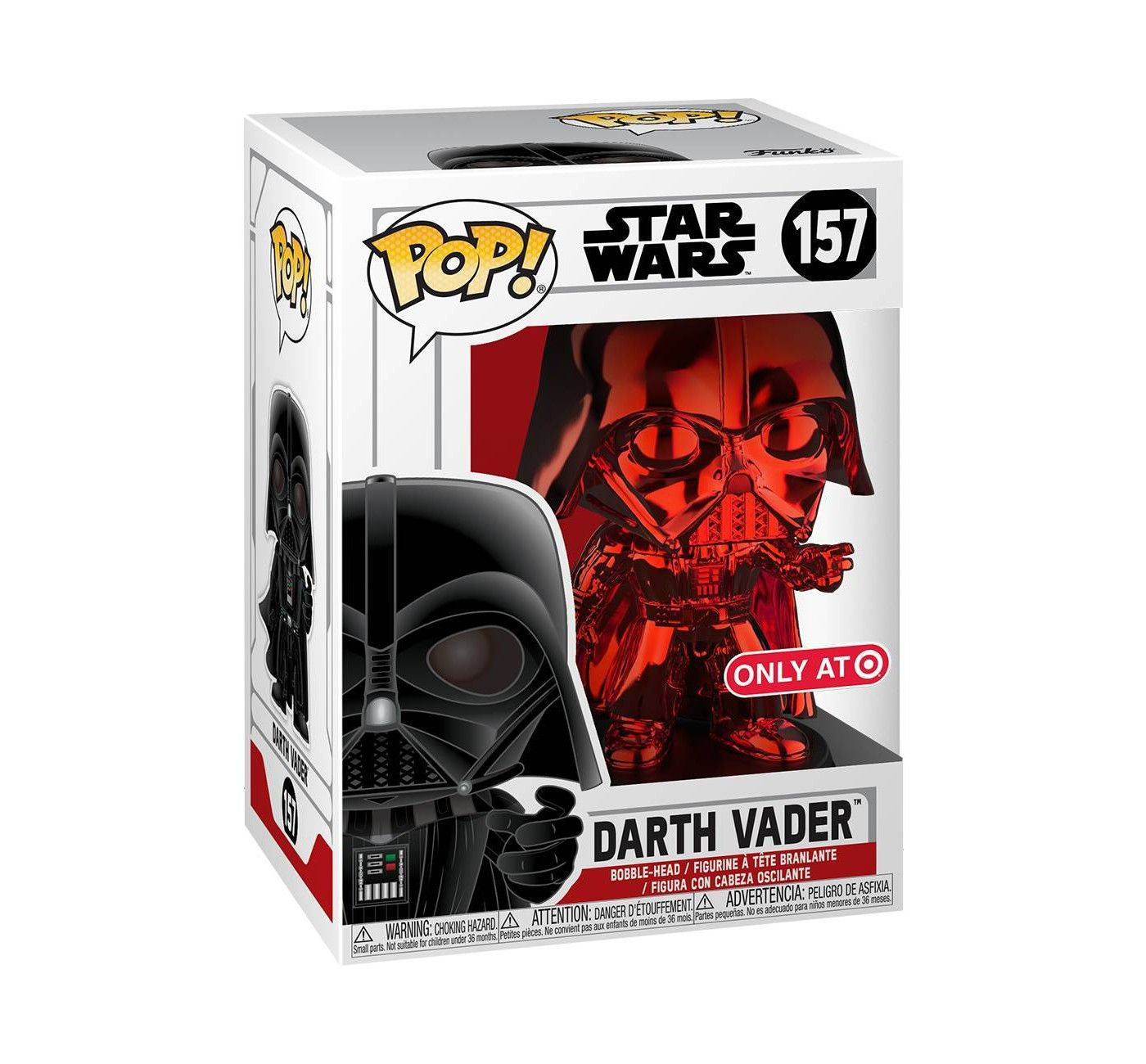 Darth Vader Red Chrome -