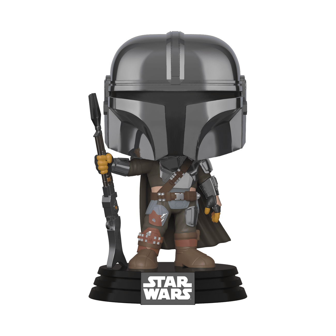 The Mandalorian (Beskar - Chrome) -