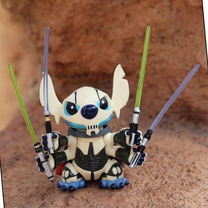 Stitch as General Grievous