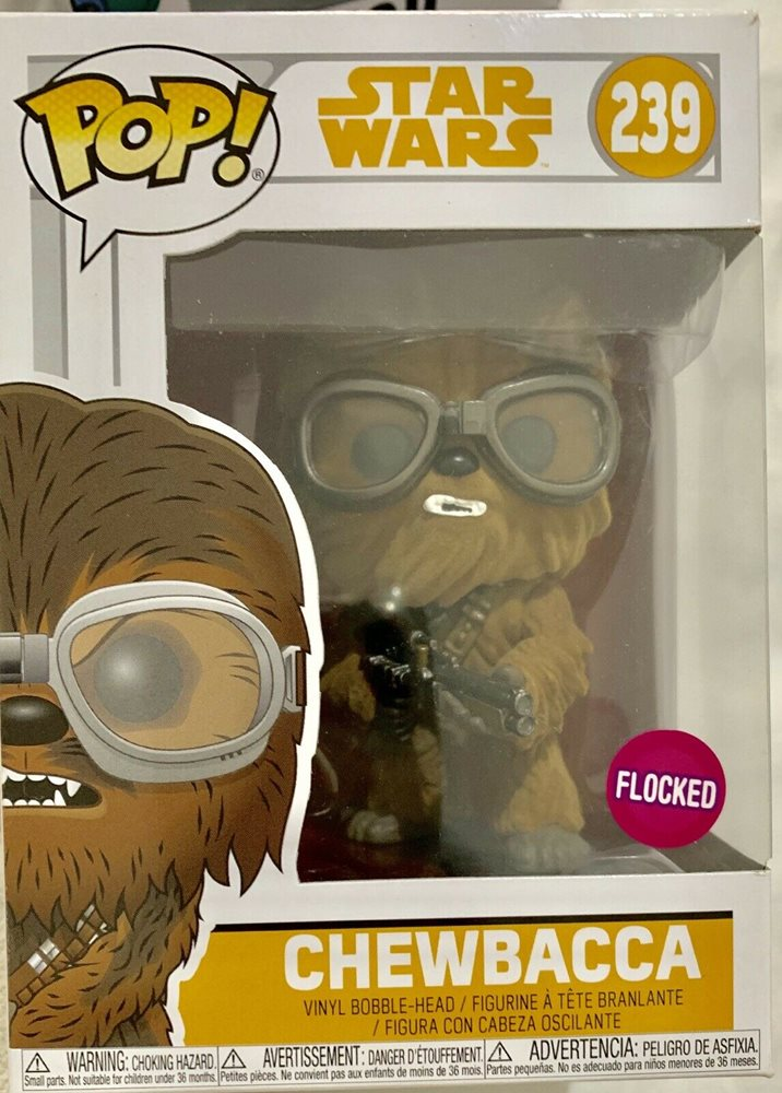 Chewbacca Flocked (Solo) -