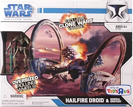 Hailfire Droid and General Grievous -
