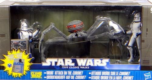 Droid Attack on the Coronet