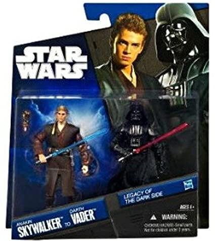Anakin Skywalker to Darth Vader -