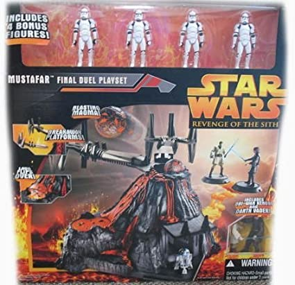 Mustafar Final Duel Playset (with Clone Trooper Squad) -