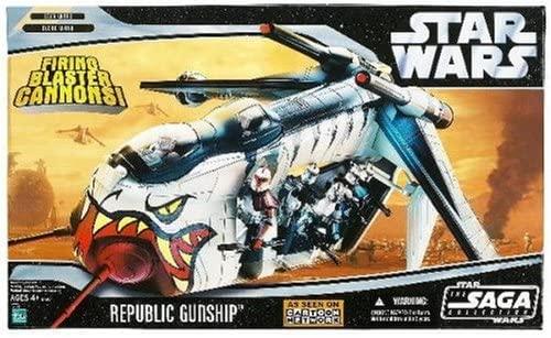 Republic Gunship (Clone Wars Deco) -
