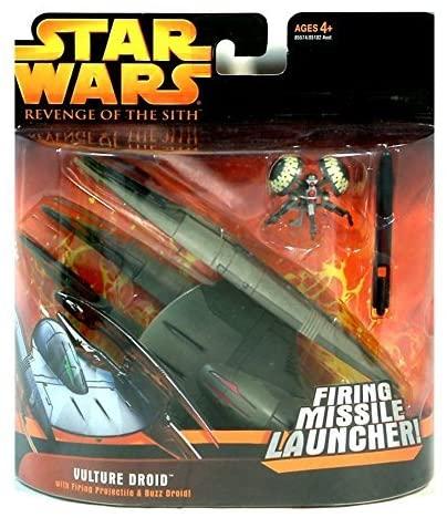 Vulture Droid (Firing Missle Launcher - brown) -