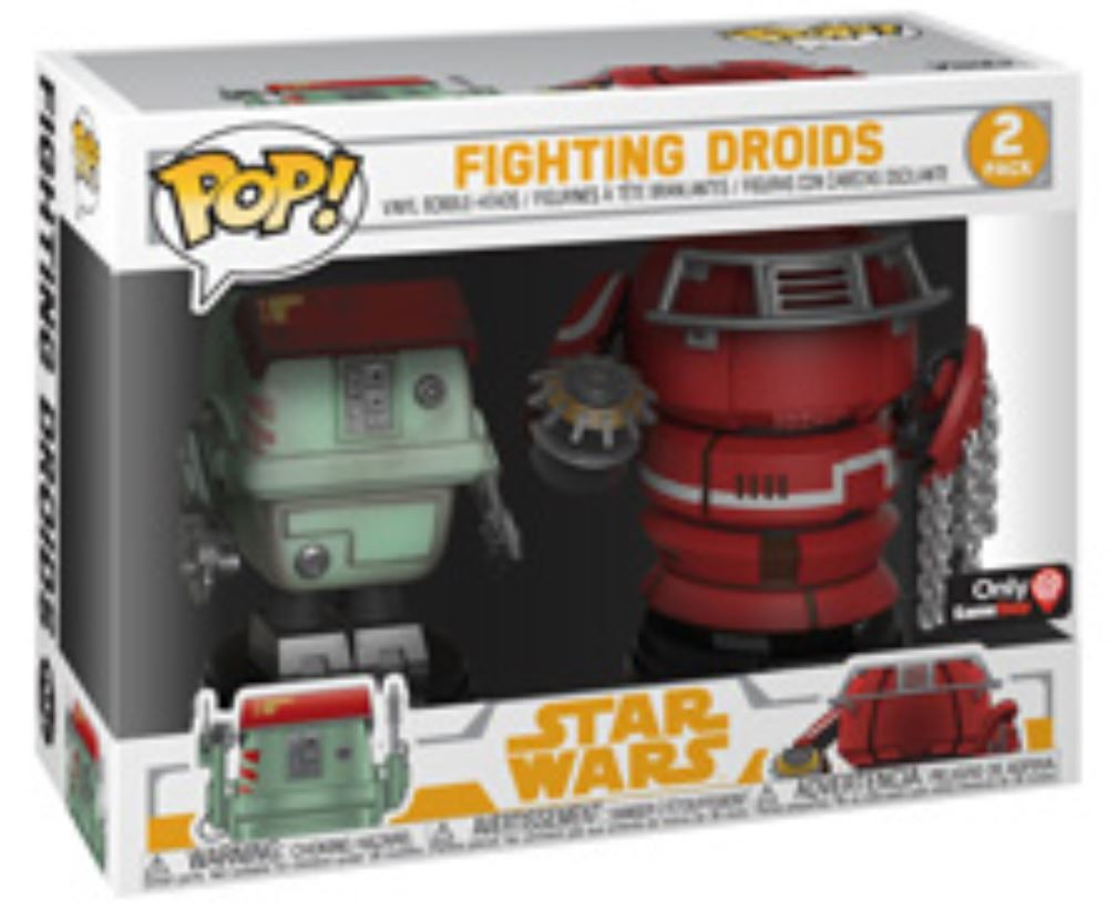 Fighting Droids 2-Pack -