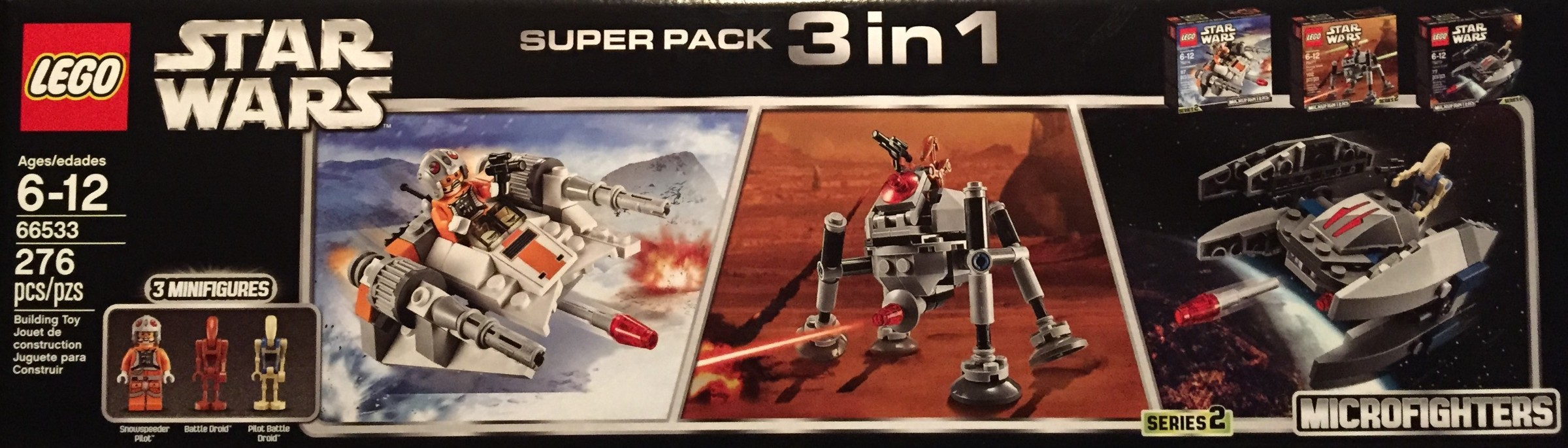 Microfighter 3-in-1 Super Pack 1