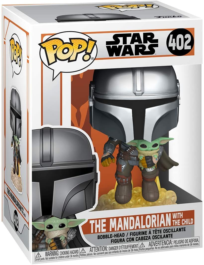 The Mandalorian with The Child (Flying) -