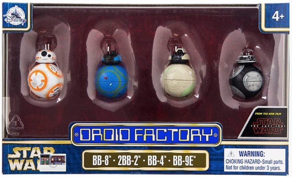 The Last Jedi Droid Factory 4-Pack