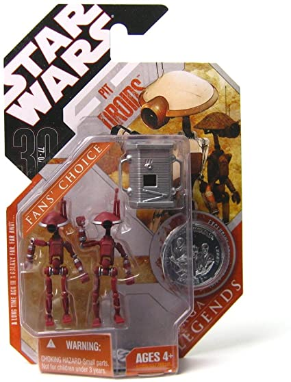 Pit Droids (brown, standing) -