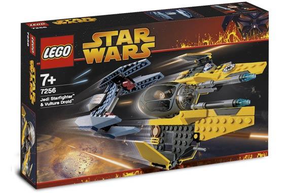 Jedi Starfighter & Vulture Droid -