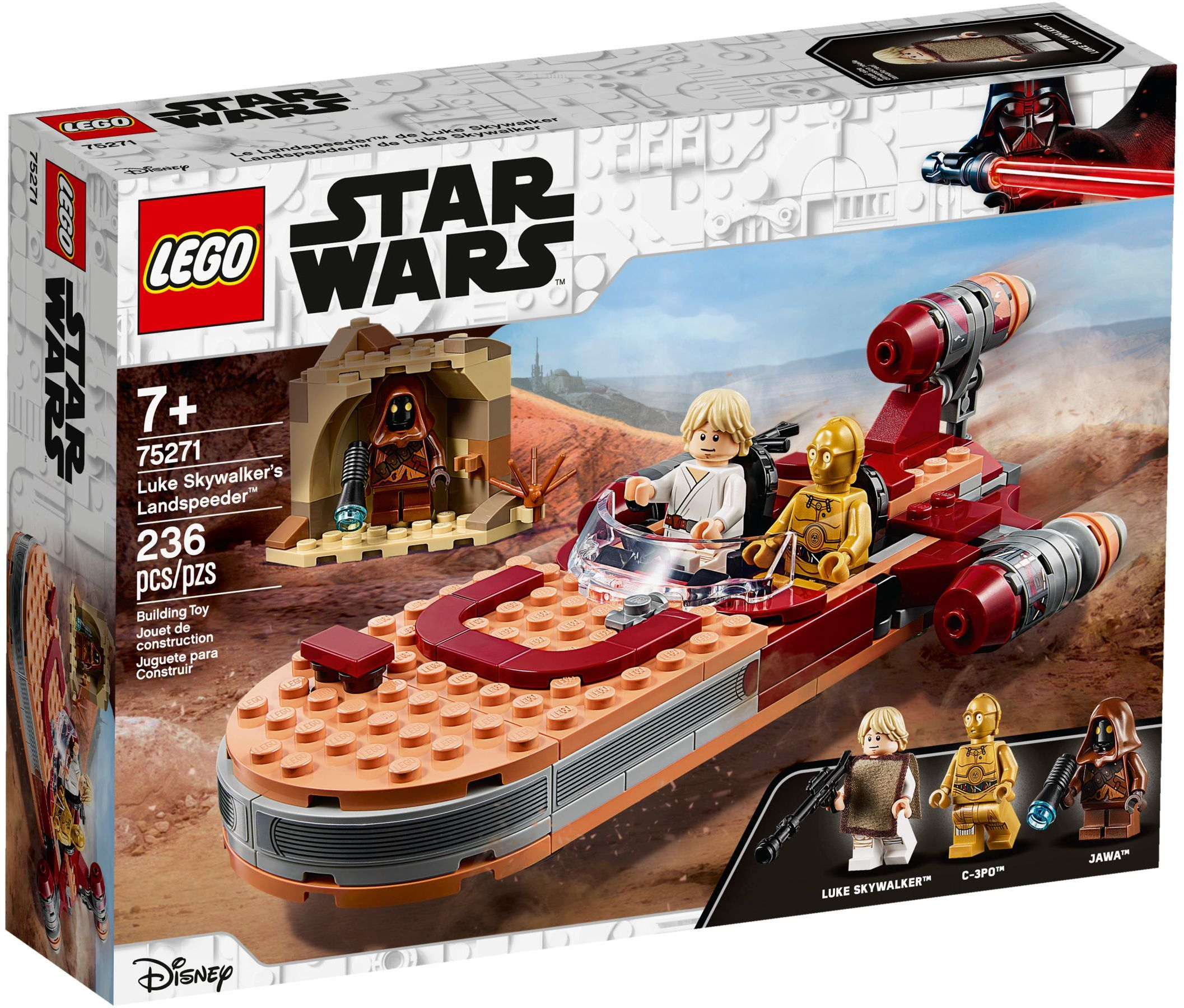 Luke Skywalker's Landspeeder -