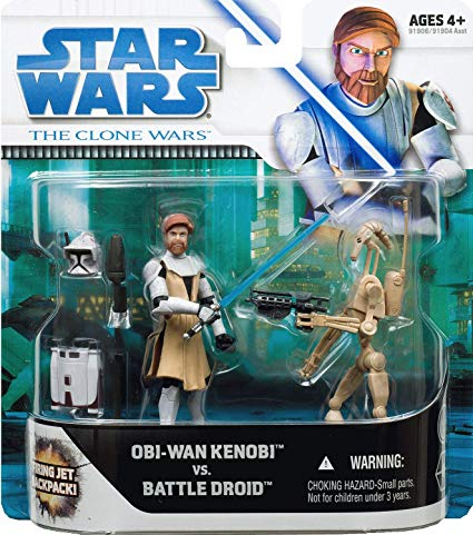 Obi-Wan Kenobi vs Battle Droid -