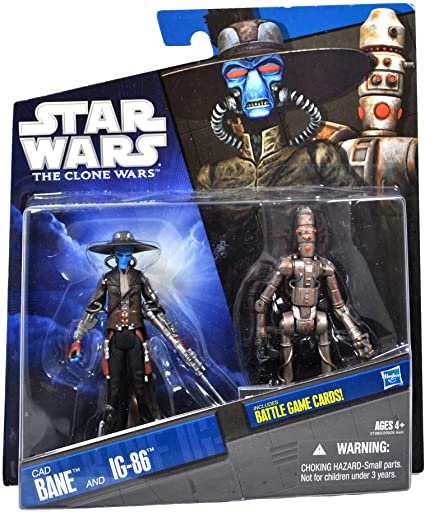 Cad Bane and IG-86 Two-Pack (TCW) -