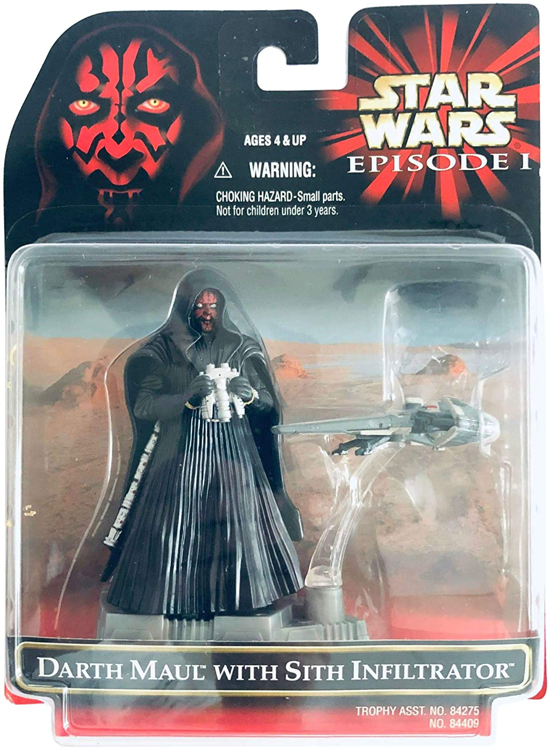 Darth Maul with Sith Infiltrator -
