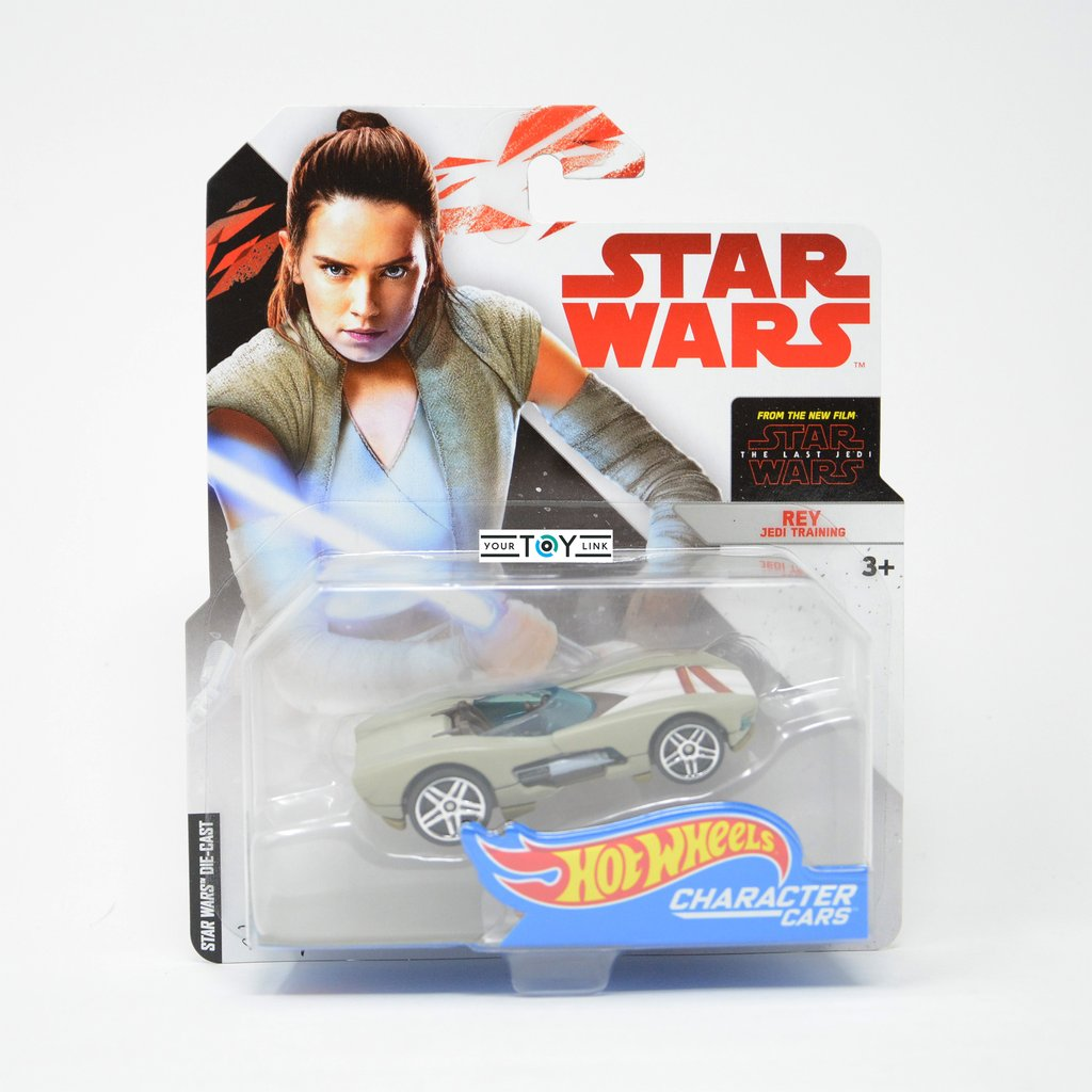 Rey Jakku STAR WARS Die Cast Hot Wheels Character Cars