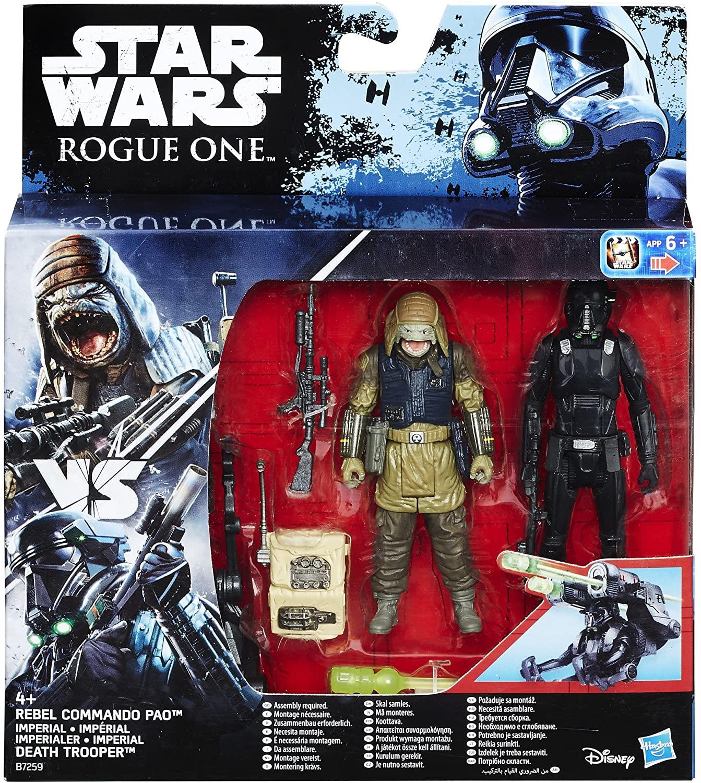 Rebel Commando Pao vs. Imperial Death Trooper -