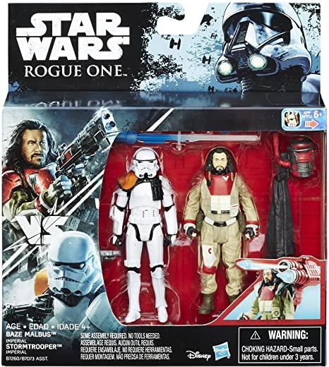 Baze Malbus vs. Imperial Stormtrooper -
