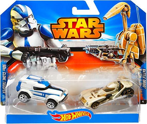 501st Clone Trooper & Battle Droid -