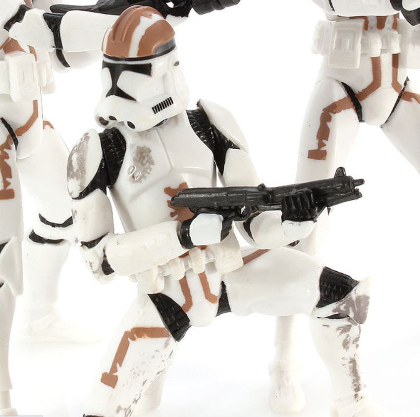 Clone Trooper (kneeling pose brown) | Episode III Collection III - Clone Troopers