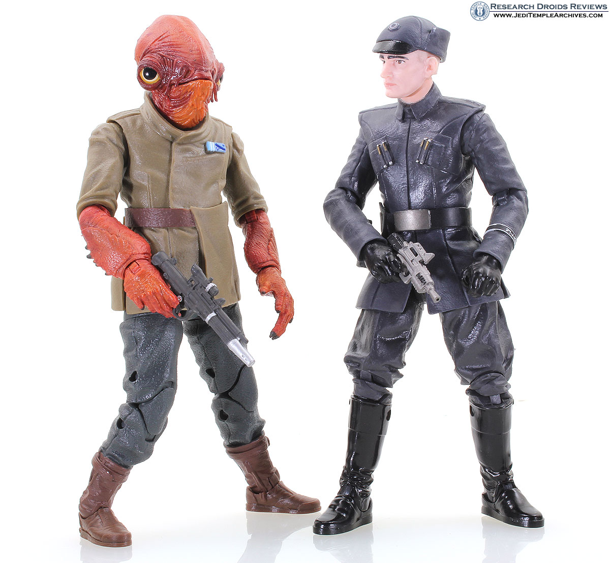 Admiral Ackbar and First Order Officer