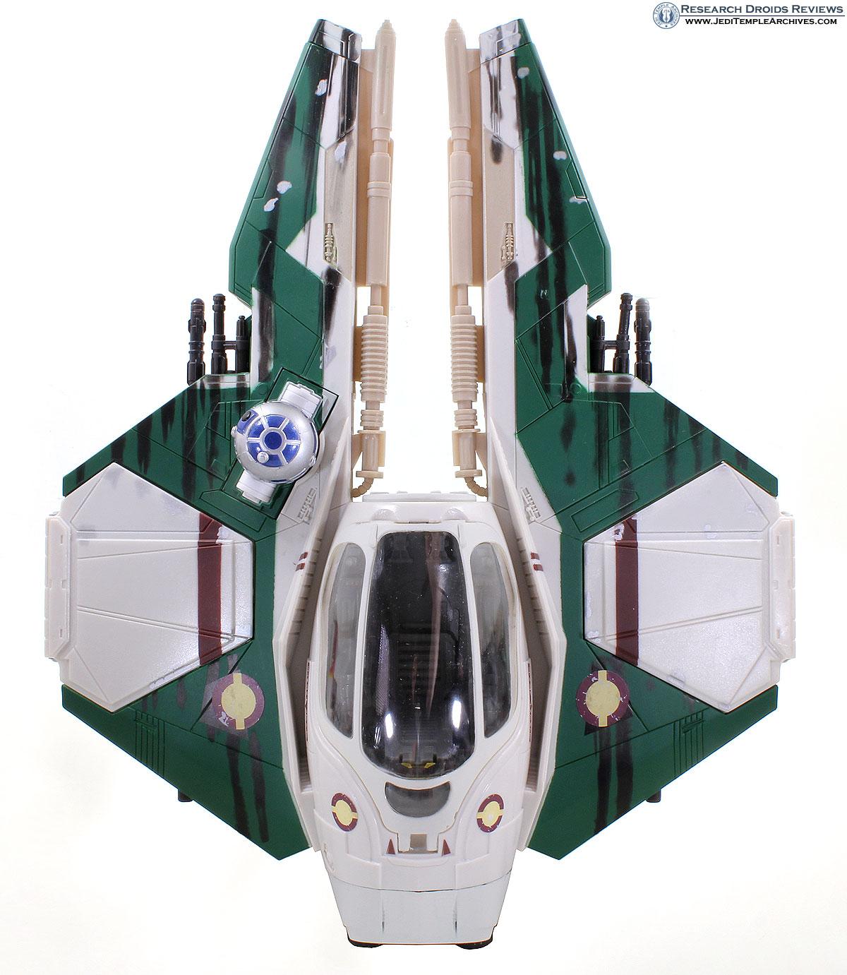 Anakin's Jedi Starfighter with Anakin (Mustafar) -