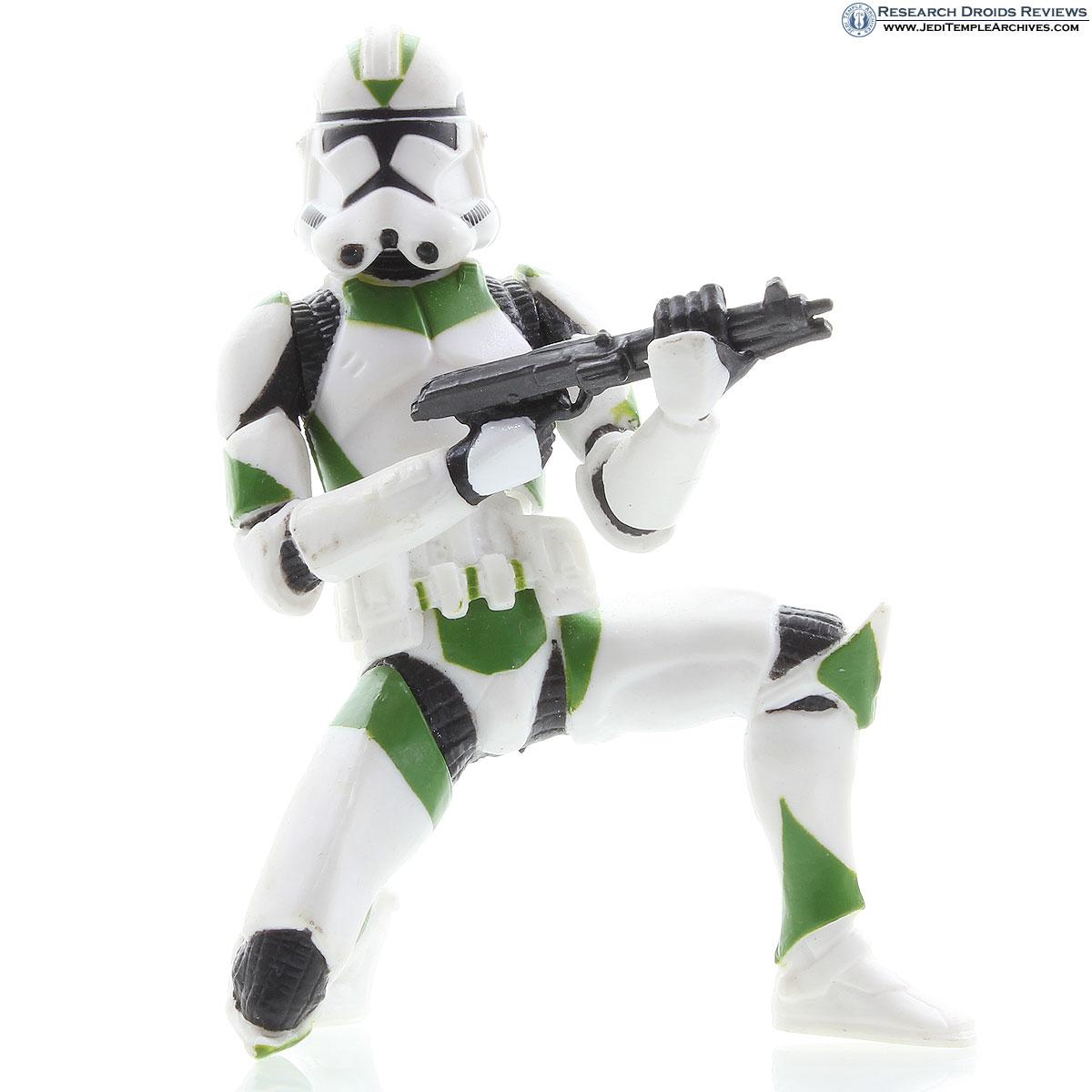Clone Trooper (kneeling pose green) | Clone Troopers 442nd Siege Battalion