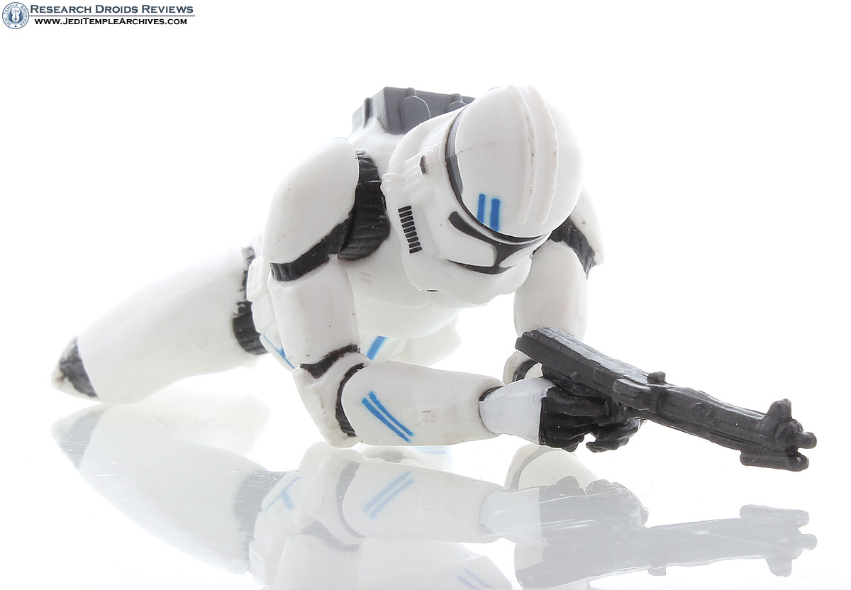 Clone Trooper (crawling pose blue) | Clone Troopers 5th Fleet Security