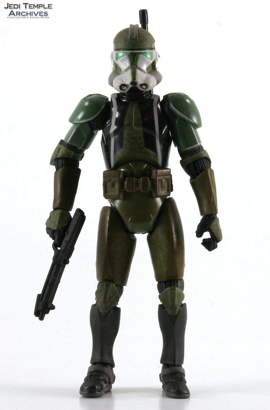 Commander Gree (Battle Gear dark green visor)