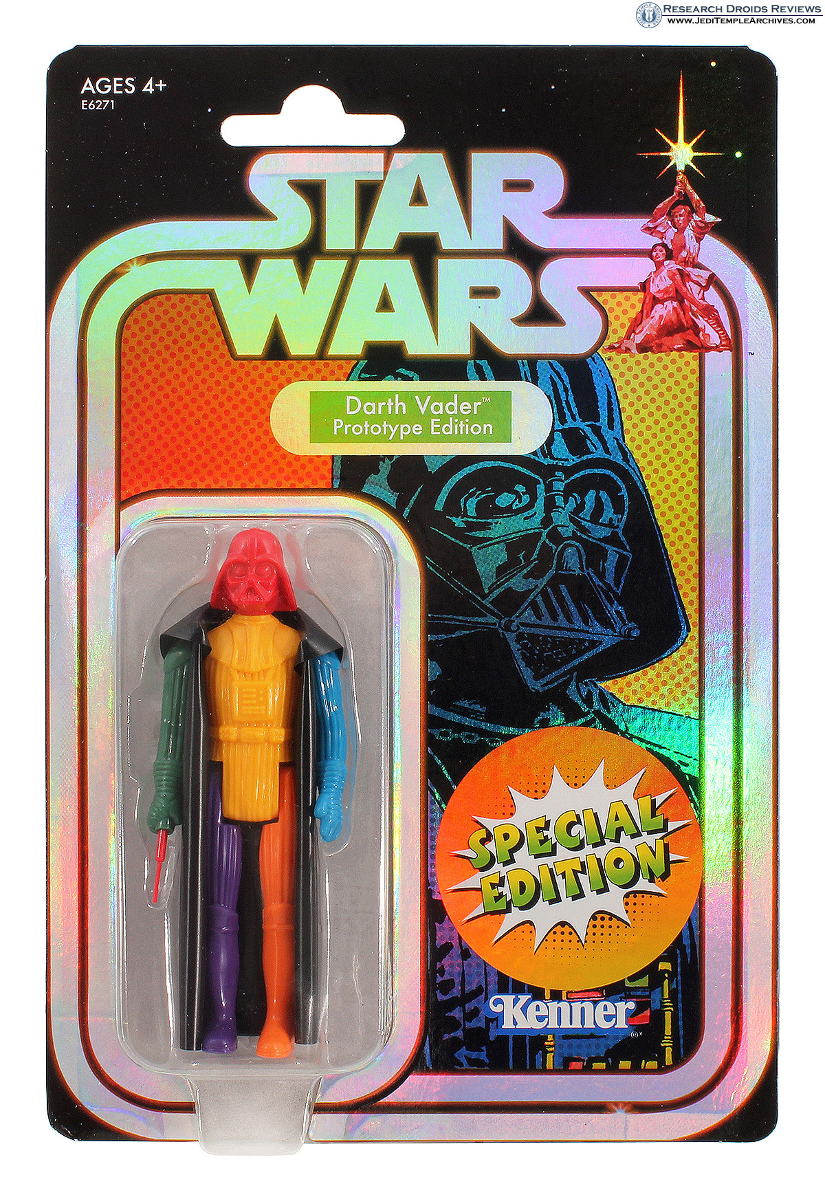 Darth Vader Color Prototype Retro