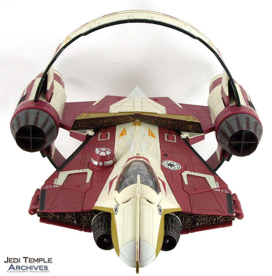 Obi-Wan's Jedi Starfighter with Hyperspace Ring