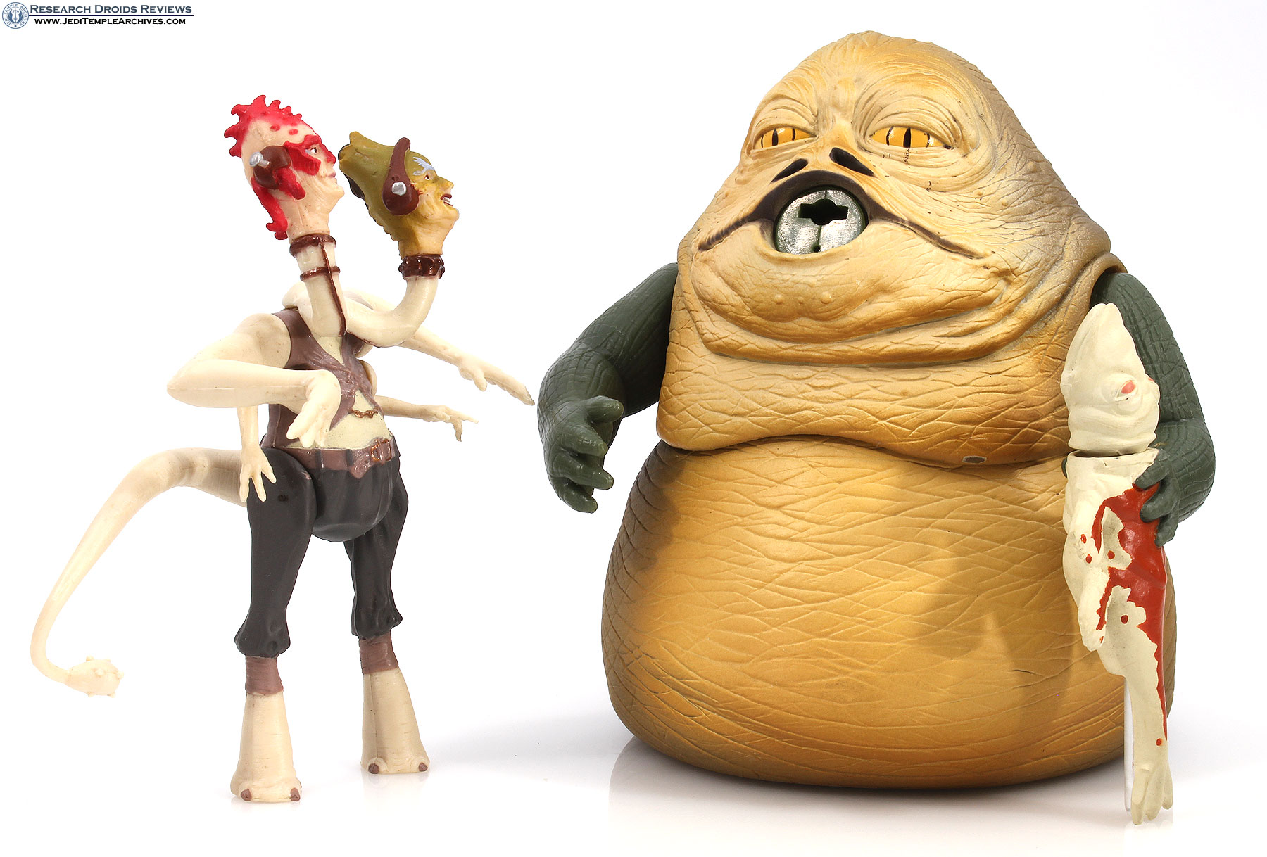 Jabba the Hutt with Two-Headed Announcer -