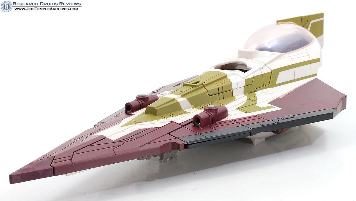 Kit Fisto's Delta Starfighter -