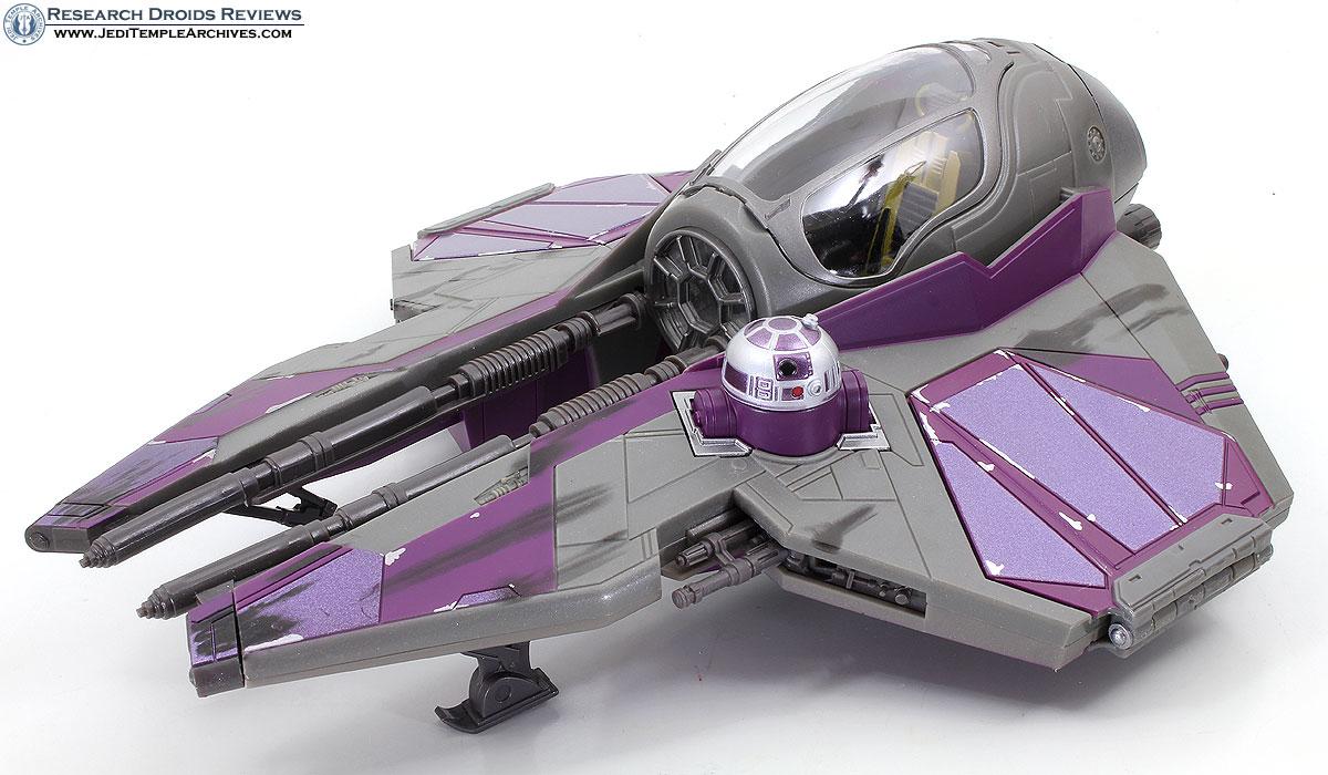 Mace Windu's Jedi Starfighter -