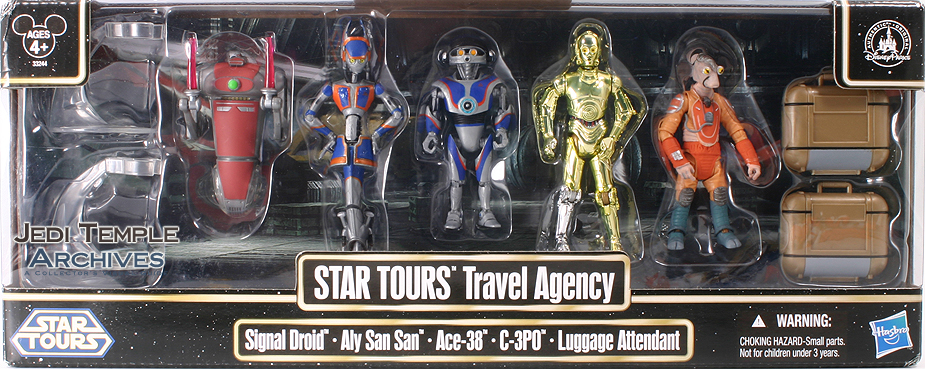 Star Tours Travel Agency 5-Pack (Disney)