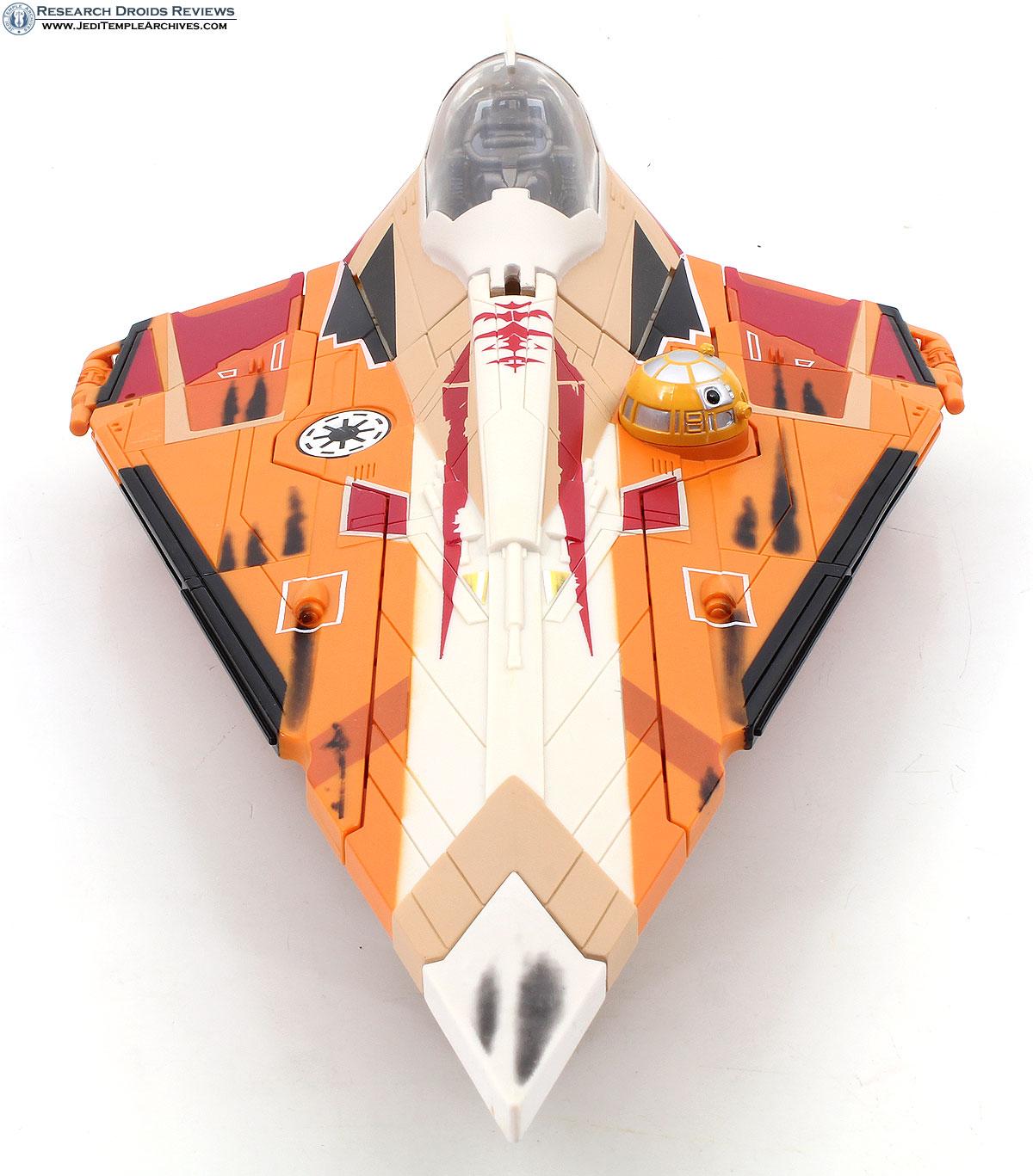 Saesee Tiin's Jedi Starfighter -