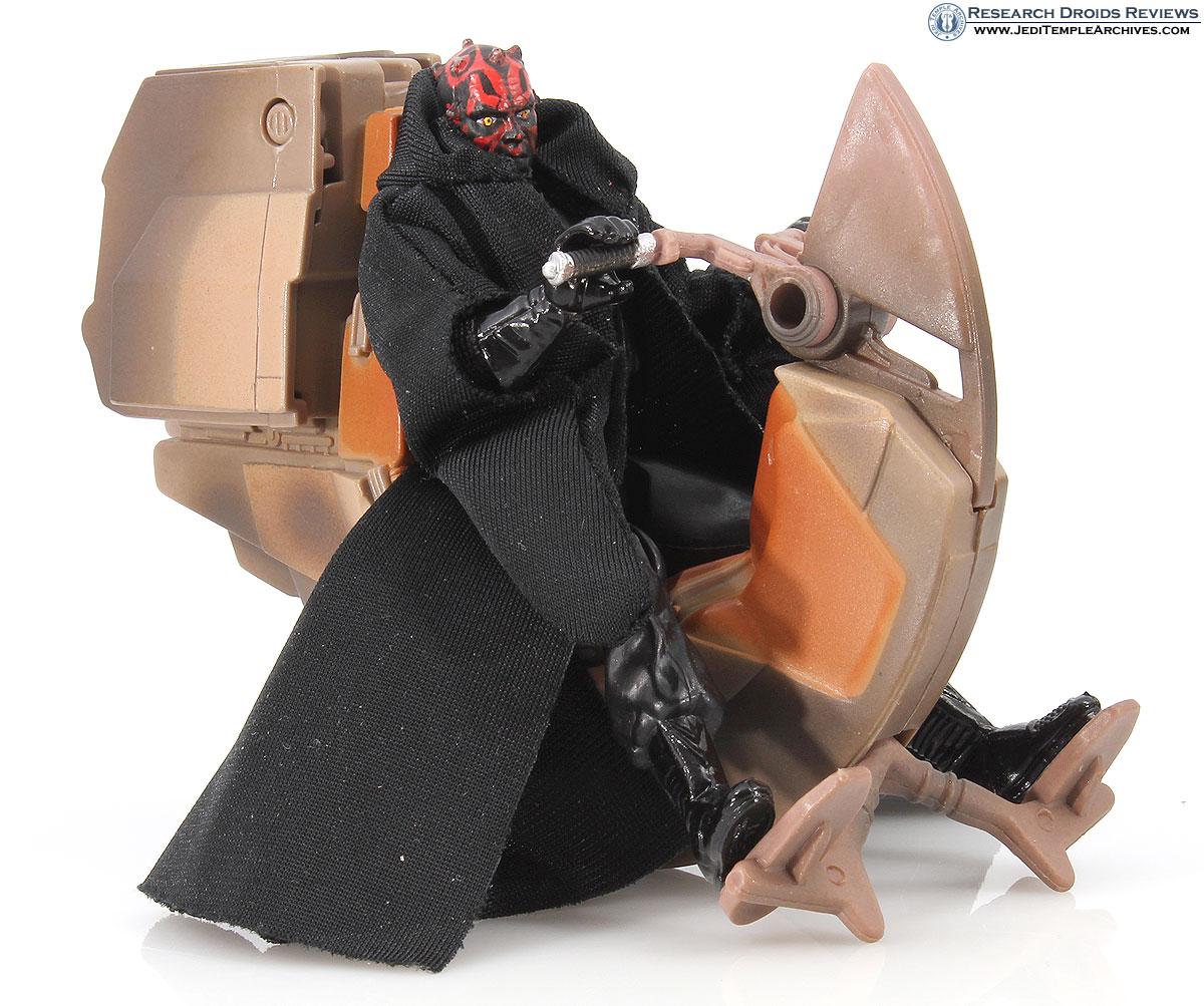 Sith Speeder with Darth Maul -