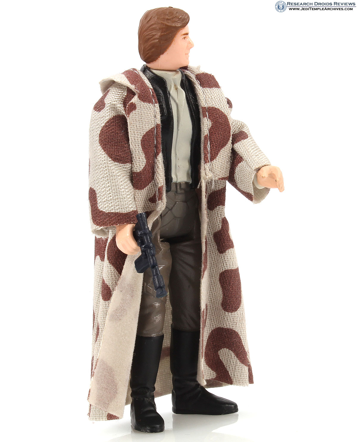 Han Solo in Trench Coat (Black Lapels)