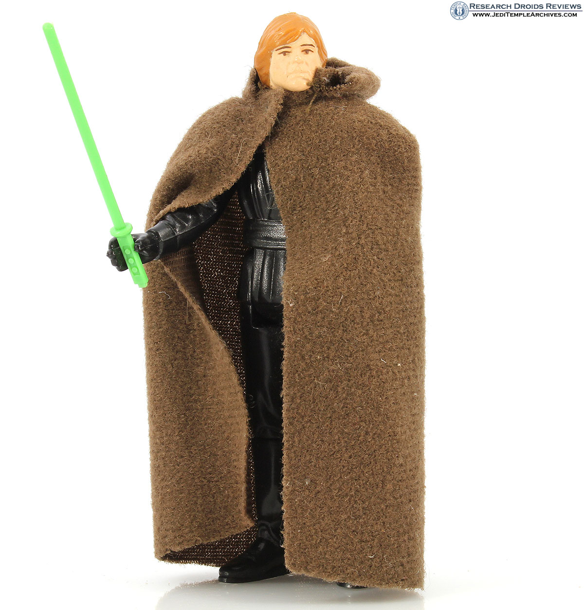 Luke Skywalker (Jedi Knight outfit - Green Lightsaber)